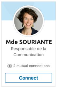 photo profil linkedin femme souriante en couleur