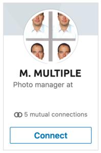 photo linkedin profil homme multiple 2020